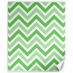 Zig zags pattern Canvas 11  x 14