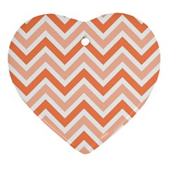 Zig zags pattern Ornament (Heart)