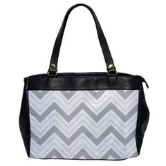 Zig zags pattern Office Handbags