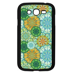 Forest Spirits  Green Mandalas  Samsung Galaxy Grand Duos I9082 Case (black)