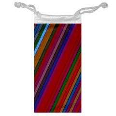 Color Stripes Pattern Jewelry Bag