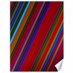 Color Stripes Pattern Canvas 36  x 48