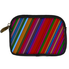 Color Stripes Pattern Digital Camera Cases