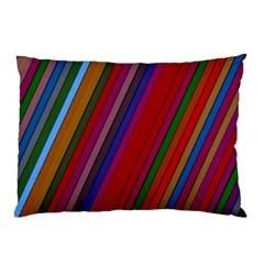 Color Stripes Pattern Pillow Case (Two Sides)