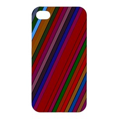 Color Stripes Pattern Apple iPhone 4/4S Hardshell Case