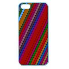 Color Stripes Pattern Apple Seamless iPhone 5 Case (Color)