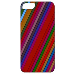 Color Stripes Pattern Apple Iphone 5 Classic Hardshell Case