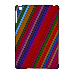 Color Stripes Pattern Apple iPad Mini Hardshell Case (Compatible with Smart Cover)
