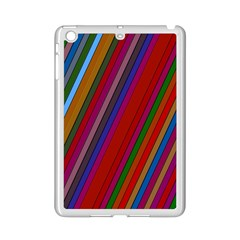 Color Stripes Pattern iPad Mini 2 Enamel Coated Cases