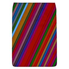 Color Stripes Pattern Flap Covers (L)