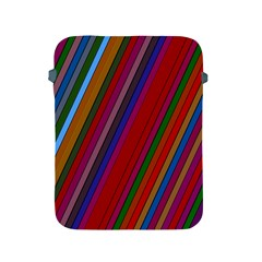 Color Stripes Pattern Apple iPad 2/3/4 Protective Soft Cases