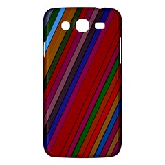 Color Stripes Pattern Samsung Galaxy Mega 5.8 I9152 Hardshell Case