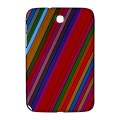 Color Stripes Pattern Samsung Galaxy Note 8 0 N5100 Hardshell Case
