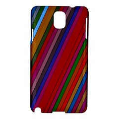 Color Stripes Pattern Samsung Galaxy Note 3 N9005 Hardshell Case