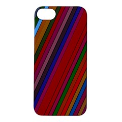 Color Stripes Pattern Apple Iphone 5s/ Se Hardshell Case