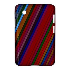 Color Stripes Pattern Samsung Galaxy Tab 2 (7 ) P3100 Hardshell Case