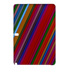 Color Stripes Pattern Samsung Galaxy Tab Pro 10.1 Hardshell Case
