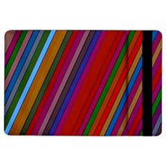Color Stripes Pattern iPad Air 2 Flip