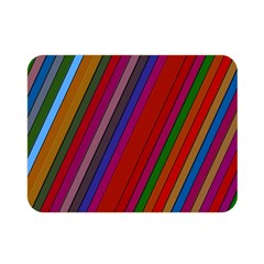 Color Stripes Pattern Double Sided Flano Blanket (mini)