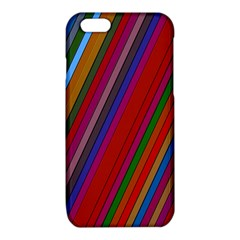 Color Stripes Pattern iPhone 6/6S TPU Case