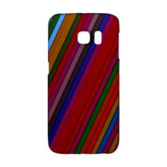 Color Stripes Pattern Galaxy S6 Edge