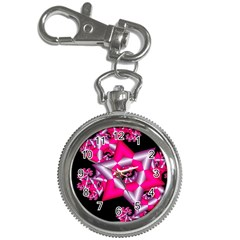 Star Of David On Black Key Chain Watches