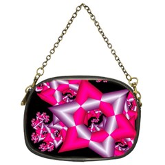 Star Of David On Black Chain Purses (one Side)