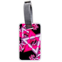 Star Of David On Black Luggage Tags (two Sides)