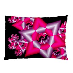 Star Of David On Black Pillow Case (Two Sides)