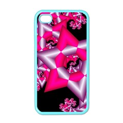 Star Of David On Black Apple iPhone 4 Case (Color)