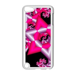 Star Of David On Black Apple iPod Touch 5 Case (White)