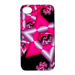 Star Of David On Black Apple iPhone 4/4S Hardshell Case with Stand