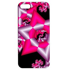 Star Of David On Black Apple iPhone 5 Hardshell Case with Stand