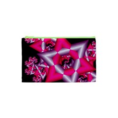 Star Of David On Black Cosmetic Bag (XS)