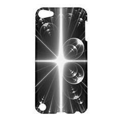 Black And White Bubbles On Black Apple iPod Touch 5 Hardshell Case