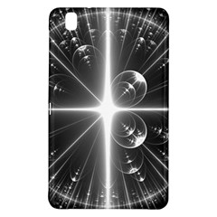 Black And White Bubbles On Black Samsung Galaxy Tab Pro 8.4 Hardshell Case
