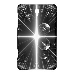 Black And White Bubbles On Black Samsung Galaxy Tab S (8.4 ) Hardshell Case