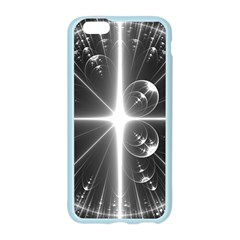 Black And White Bubbles On Black Apple Seamless iPhone 6/6S Case (Color)