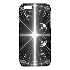 Black And White Bubbles On Black iPhone 6/6S TPU Case