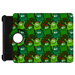 Seamless Little Cartoon Men Tiling Pattern Kindle Fire Hd 7