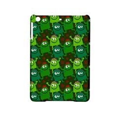 Seamless Little Cartoon Men Tiling Pattern iPad Mini 2 Hardshell Cases