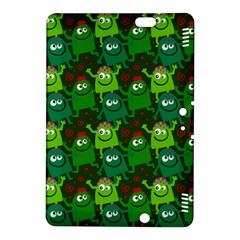 Seamless Little Cartoon Men Tiling Pattern Kindle Fire HDX 8.9  Hardshell Case