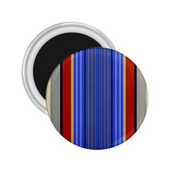 Colorful Stripes Background 2.25  Magnets