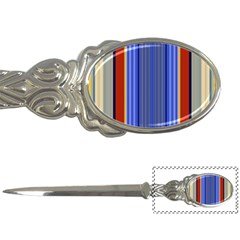 Colorful Stripes Background Letter Openers