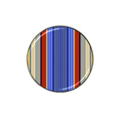 Colorful Stripes Background Hat Clip Ball Marker