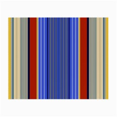 Colorful Stripes Background Small Glasses Cloth