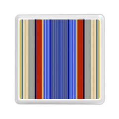 Colorful Stripes Background Memory Card Reader (square)