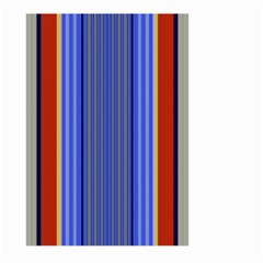 Colorful Stripes Background Large Garden Flag (two Sides)