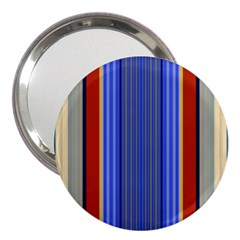 Colorful Stripes Background 3  Handbag Mirrors