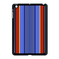 Colorful Stripes Background Apple iPad Mini Case (Black)